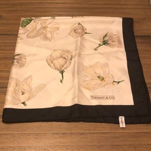 Tiffany & Co vintage silk scarf
